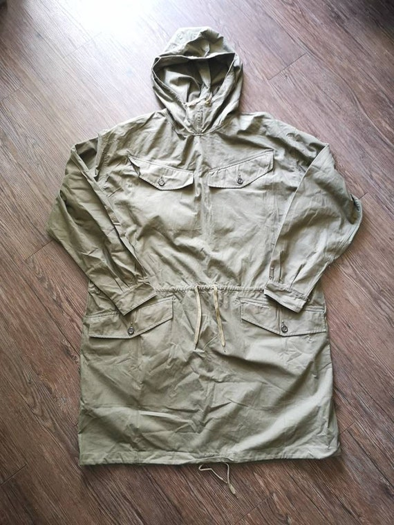 "50s French Army ""Alpine Hunter"" smock windproof vi"