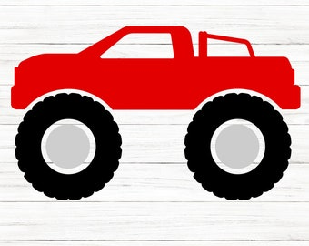 COMMERCIAL USE! Monster Truck. Monster Truck Svg, Country Svg, Farm Svg, Truck Cut File, Big Wheel, Cricut, Svg File, Svg Cut File