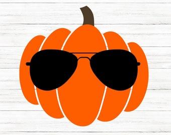 COMMERCIAL USE! Cool Pumpkin Svg, Pumpkin Patch Svg, Halloween SVG, Halloween Shirt Svg, Halloween, Pumpkin Shirt, Cricut Files, Silhouette