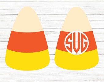 COMMERCIAL USE! Candy Corn Svg, Candy Corn Clipart, Halloween Svg, Candy Svg, Cricut, Svg, Cricut Cut Files, Silhouette Cut File, Cricut