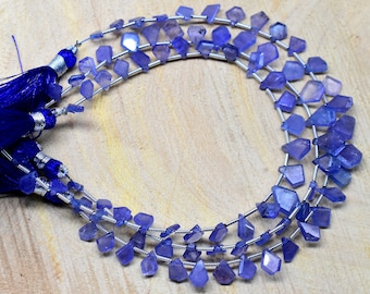 Jewelry Making AAA 16 Exclusive Tanzanite Gemstone Oval Shape Smooth Beads Wholesale Price Handmade Polished Beads 5x7mm Apx