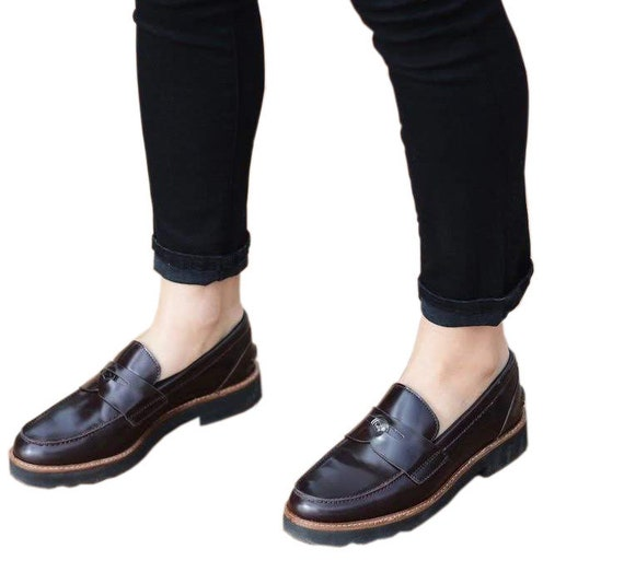 Like New Coach Leather Loafers | Simple Women's Co