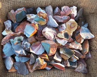 3000 Carat Lots of Desert Jasper Rough Plus a FREE Faceted Gemstone