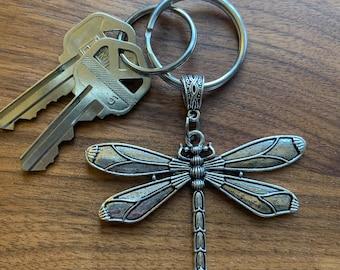 Outlander Inspired Dragonfly Keychain