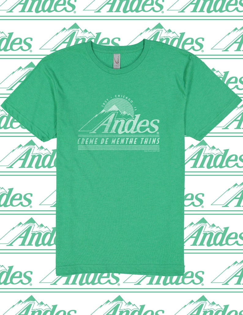 Andes\u00ae Mints Shirt Gift for Chocolate Lovers T-shirt Chocolate Mint Unisex Shirt