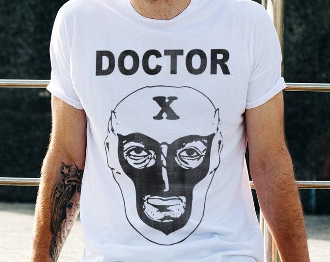 Doctor X Men's/Unisex White Graphic T Shirt | Super Soft Men's Tee