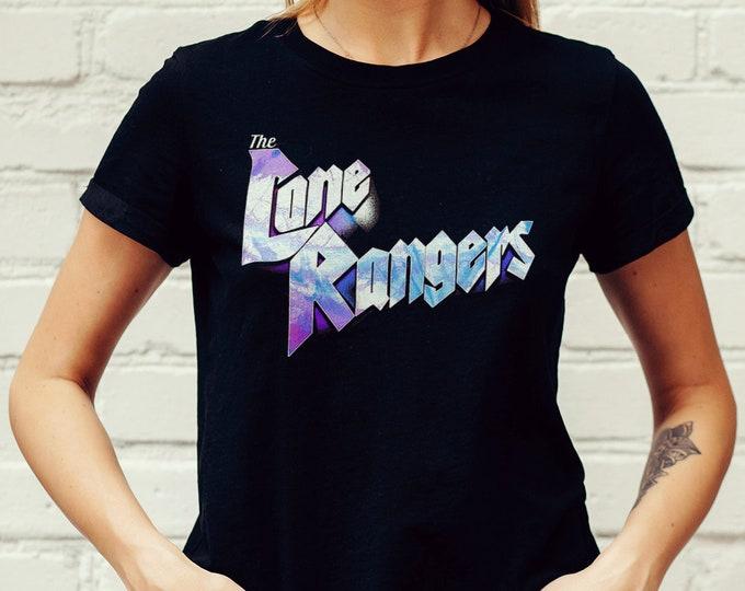 The Lone Rangers Women's Black Rocker Graphic T Shirt