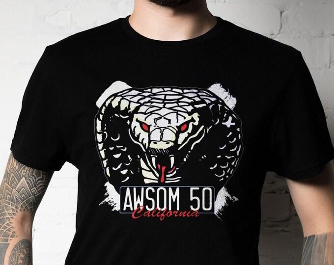 Awsom 50 Cobra Graphic T Shirt