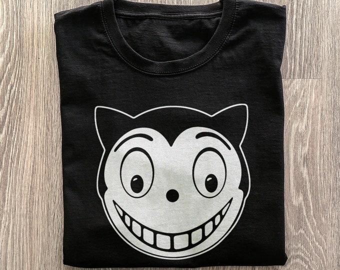 Shreck's Department Store Men's/Unisex Black Graphic T Shirt