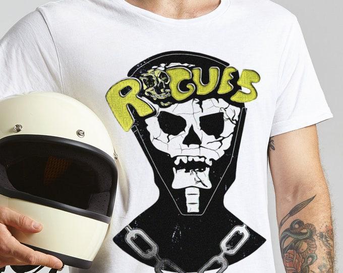 Rogues Skull Men's/Unisex Cult Classic Graphic T Shirt