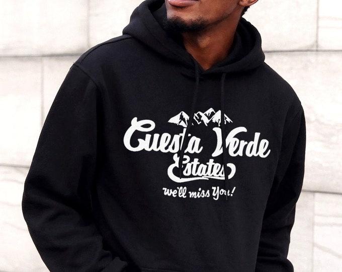 Cuesta Verde Estates Men's/Unisex Black Hoodie
