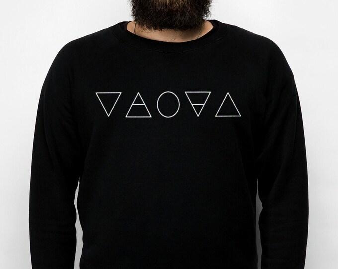 Alchemy Men's/Unisex Black Sweatshirt