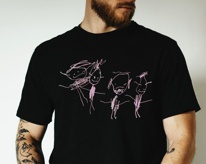 Child's Drawing Graphic T Shirt