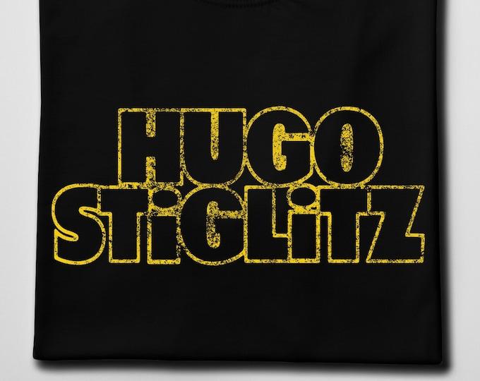 Hugo Stiglitz Men's/Unisex Black Graphic T Shirt | Super Soft Men's Tee
