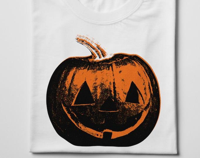 Jack O Lantern Men's/Unisex Halloween T Shirt | Super Soft Men's Pumpkin Tee