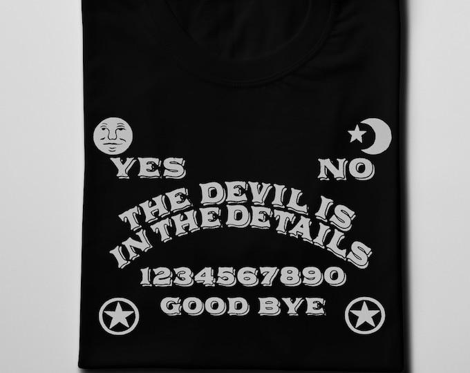 The Devil is in the Details Men's/Unisex Ouija Graphic T Shirt | Super Soft Men's Tee