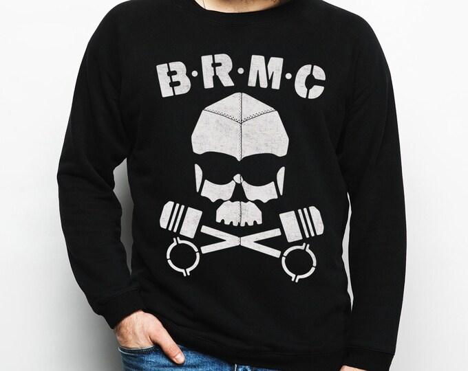BRMC Skull - The Wild one - Black Cotton Sweatshirt