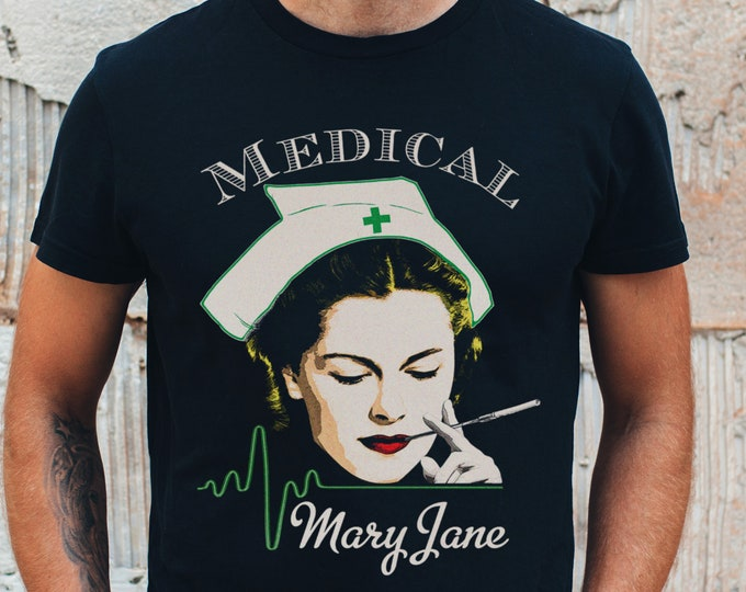 Medical Mary Jane Graphic T Shirt
