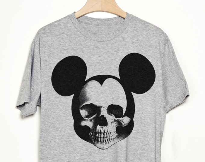 Cartoon Skull Graphic T Shirt