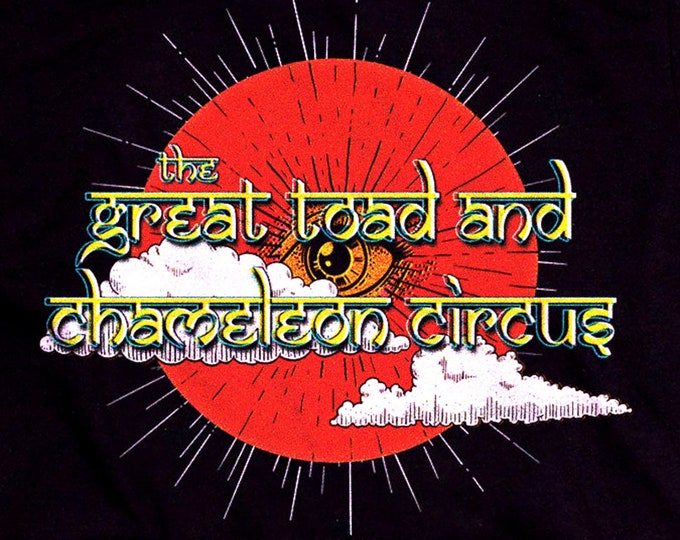 The Great Toad and Chameleon Circus Graphic T Shirt - Super Soft Holy Mountain Tee