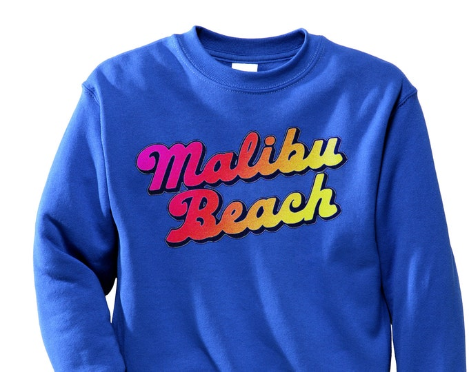 Malibu Beach Sweatshirt (Royal Blue)