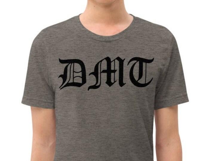 DMT Gray Vintage Style Graphic T Shirt - Unisex Tri-Blend T-Shirt | Bella + Canvas |