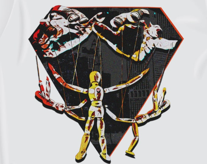 Puppet Master Men's/Unisex White Graphic T Shirt | Super Soft Men's Tee