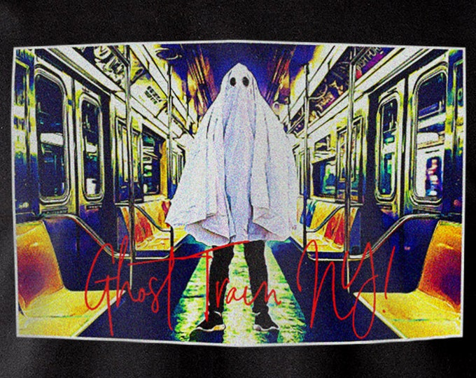 Ghost Train NY Graphic T Shirt
