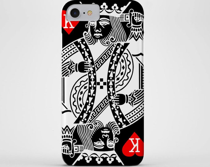 King of Hearts Phone Case