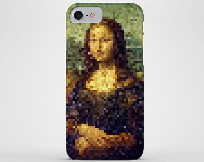 Pixelated Mona Lisa Phone Case