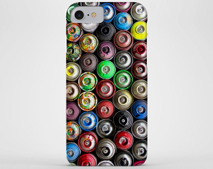 Spray Paint Cans Phone Case