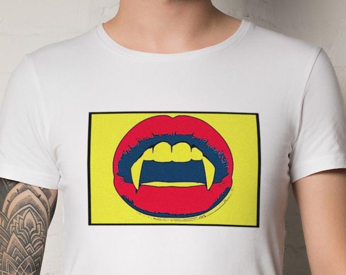 Vampire Fangs Graphic T Shirt