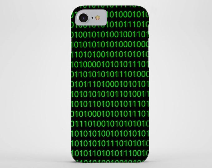 Binary Code Phone Case