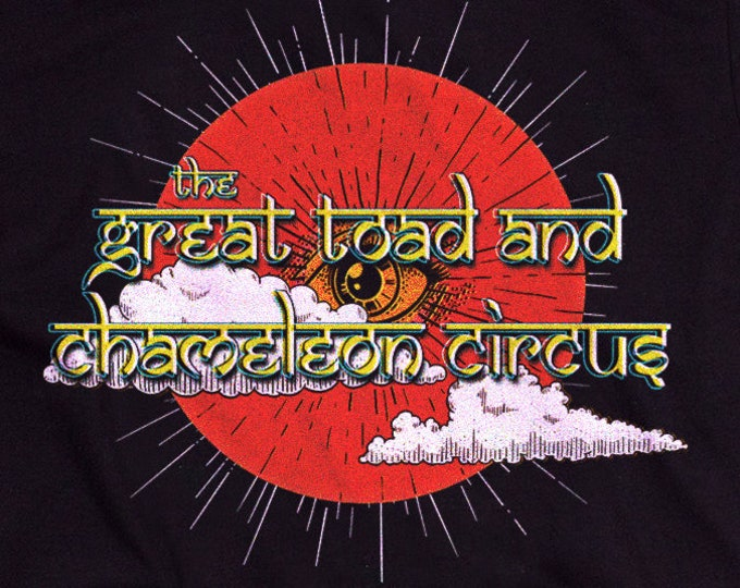 The Great Toad and Chameleon Circus Graphic T Shirt - The Holy Mountain