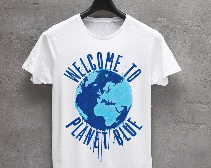Welcome to planet blue Graphic T Shirt