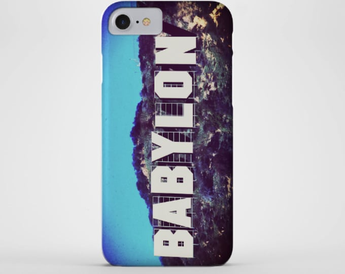 Hollywood Babylon Phone Case - Los Angeles