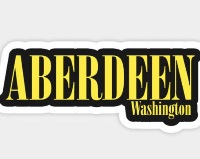 Aberdeen Washington Sticker