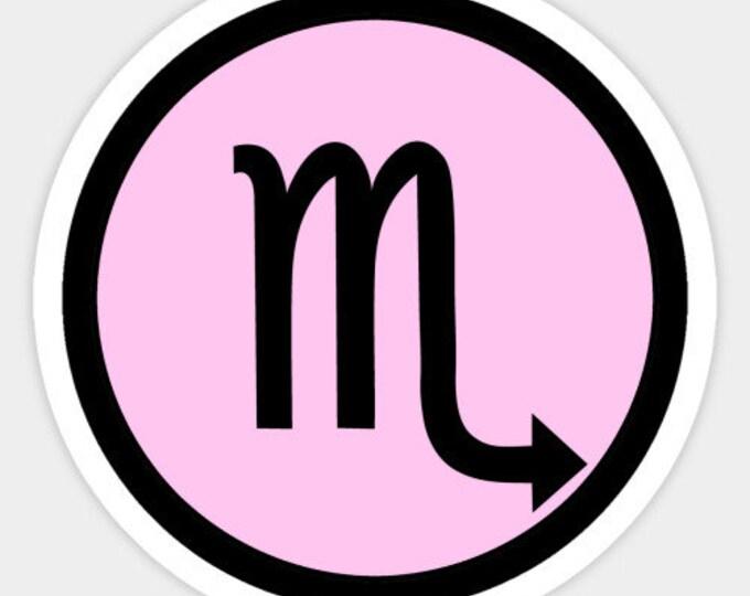 Scorpio Sticker - Zodiac Sign