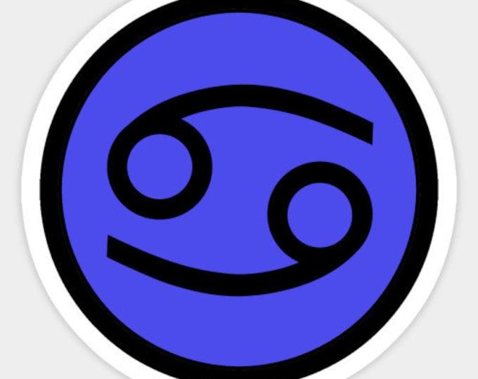 Cancer Sticker - Zodiac Sign