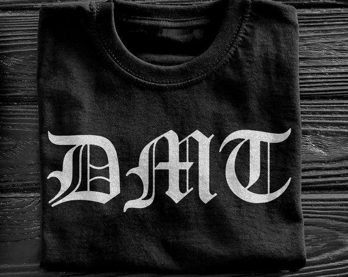 DMT Men's/Unisex Black Streetwear Graphic T Shirt   Super Soft Men's Tee