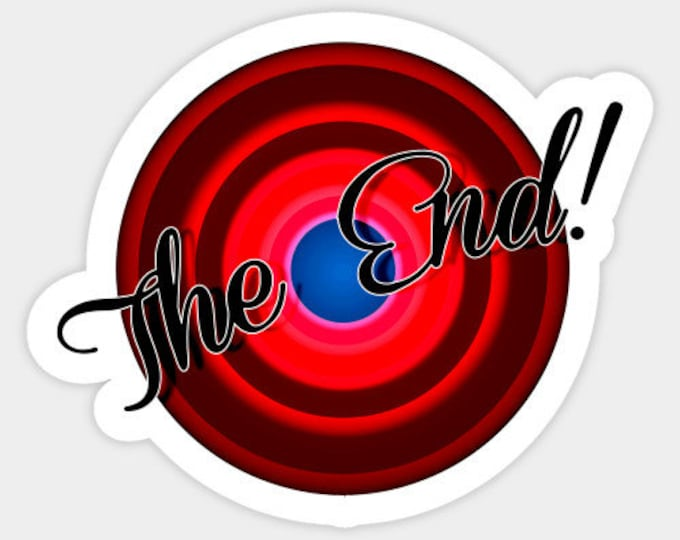 The End Sticker