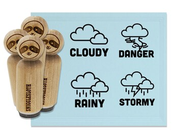 Rainy Day FRACL087 Frantic Stamper Clear Polymer Stamps
