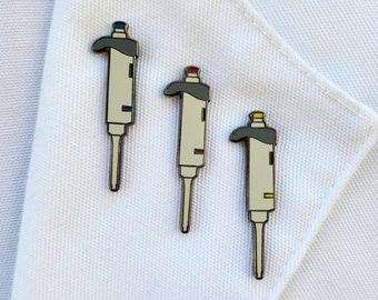 Science Enamel Pin - Pipette