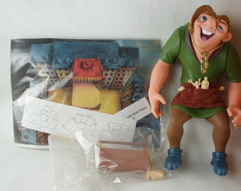 QUASIMODO the Hunchback Notre Dame toy knitting  pattern by Georgina Manvell