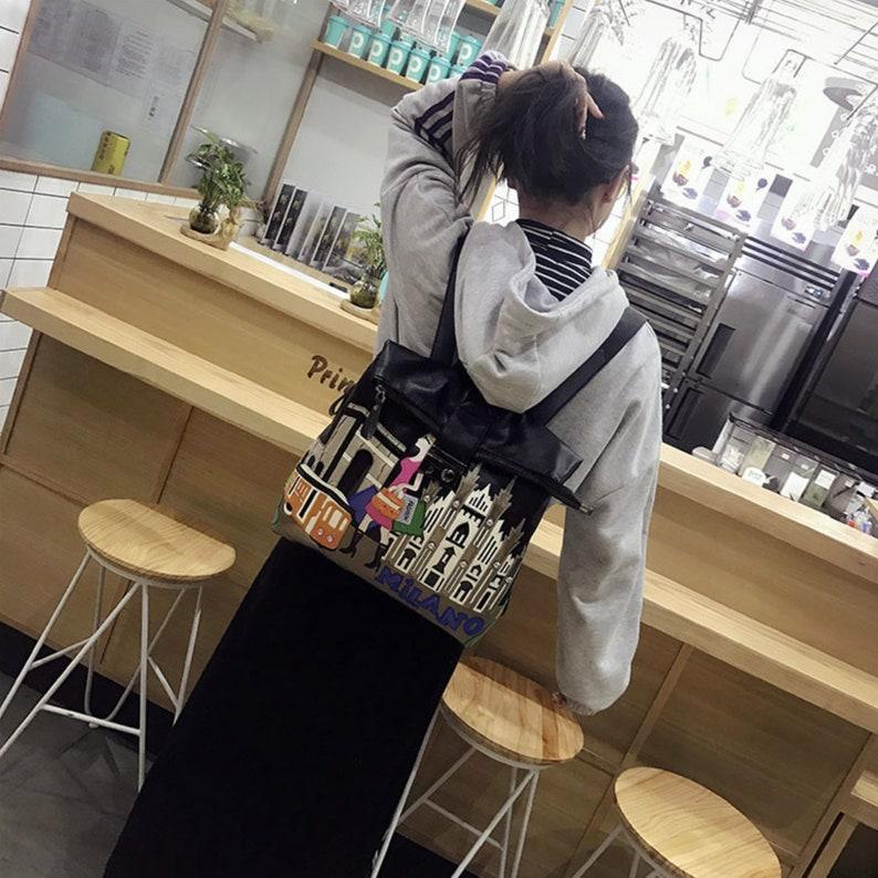 Zipper Back Pack Laptop backpack Girls backpack Girls School Bags Teenage Girl Gifts
