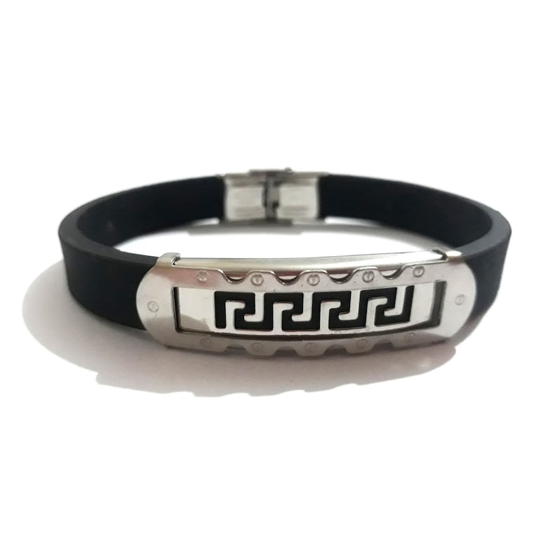Jewelry Silicone Gifts Safety Unisex Bracelet Cuff Bracelets Men/'s Silicone Medical ID Health Alert Stainless Steel Bracelets Bangles