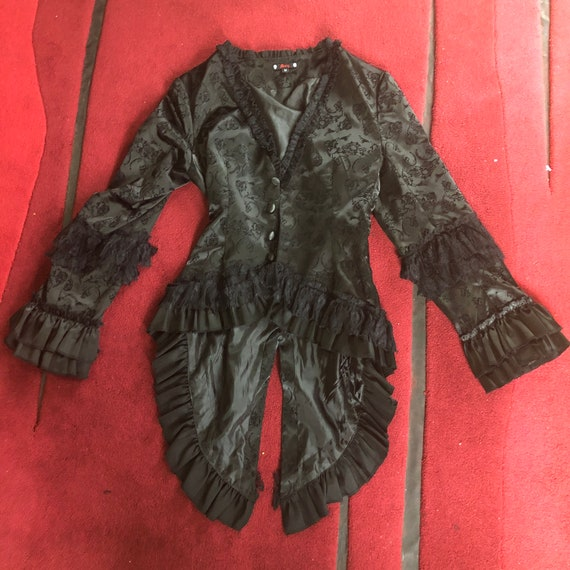 Black Frock Coat
