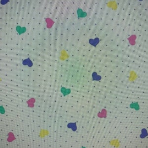 Pastel Small Hearts AE Nathan Comfy Flannels