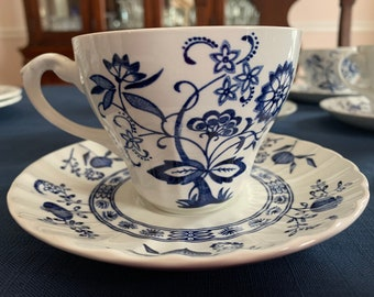 Blue Nordic Creamer Johnson Bros//Meakin