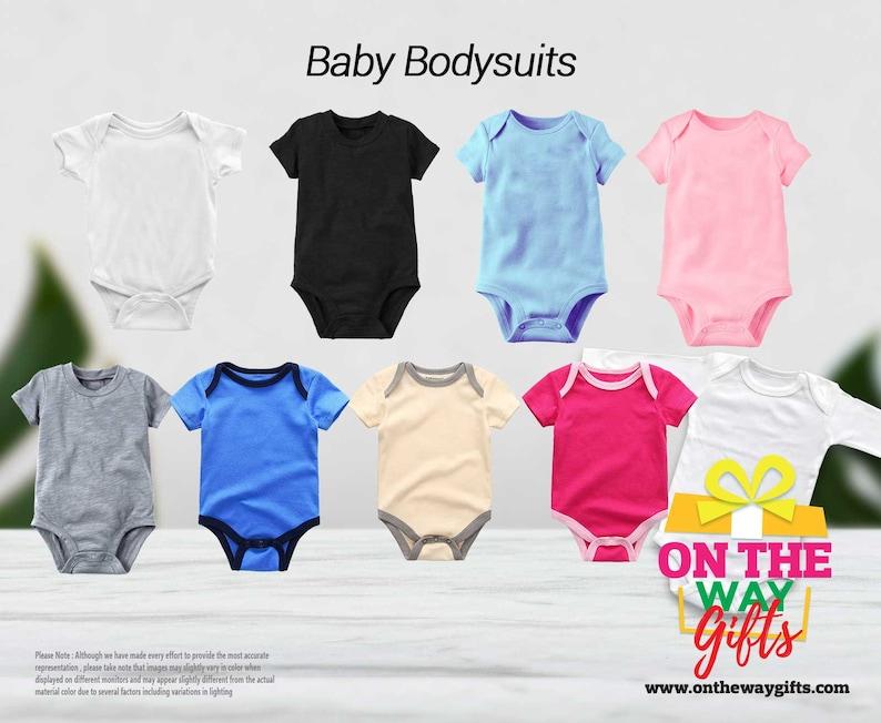 New to the crew custom Baby Onesie\u00ae personalised bodysuit unisex baby clothes apparel personalised bodysuit newborn baby outfit baby shower